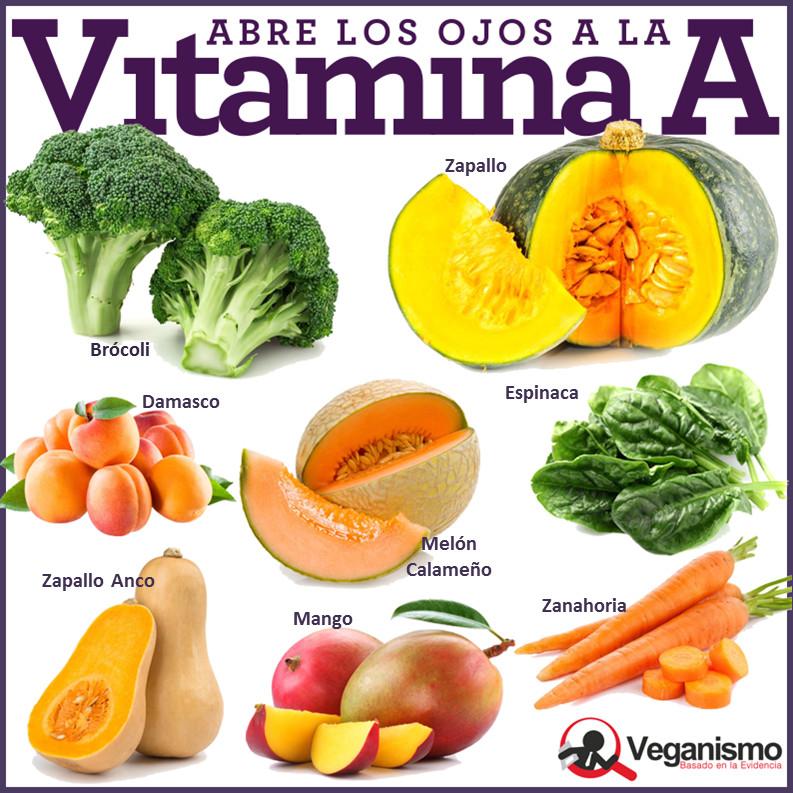 10 alimentos que contienen vitaminas